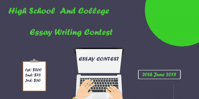 essay writing contest for students with no entry fee